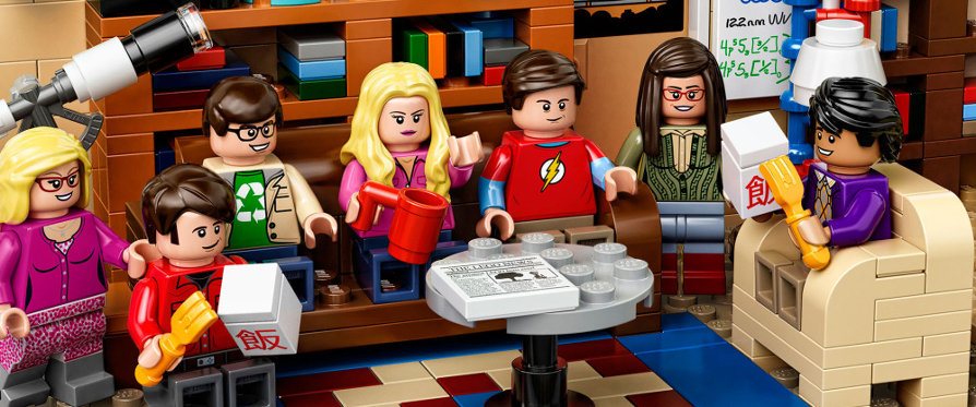 Lego The Big Bang Theory : le salon de Leonard et Sheldon pour 400 briques